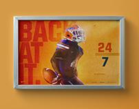 2016 Florida Football Win Posters