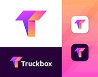 Truckbox Modern Logo and Branding Design