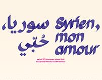 Syrien, mon amour