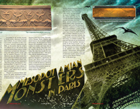Mesopotamian Monsters article design