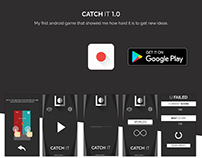 Catch it 1.0 - My first android mobile game