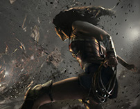 "Concept Art for ""Wonder Woman"""