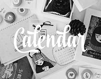 Illustrations for Calendar Design 2015