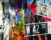 Artline Wholesalers - NYC Collages