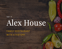 Alex House restaurant