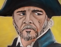 Javert Les Miserables Pastel Portraits
