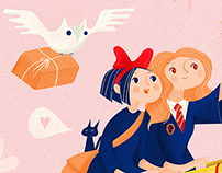 Kiki and Hermione's Delivery Service