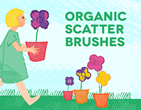 Organic Scatter Brushes