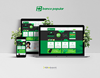 Globant | Banco Popular [Test Visual Design UX / UI]
