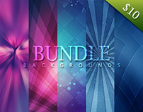 126 Color Backgrounds Bundle - $10
