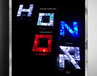 Architecture Typeface Series Poster design