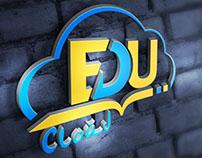 Edu Cloud - Education Cloud Logo