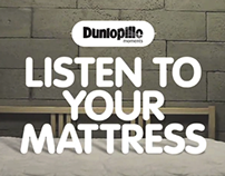 'LISTEN TO YOUR MATTRESS' BY DUNLOPILLO