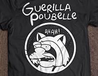 T-shirt Guerilla Poubelle / Simpson / Nelson raccoon
