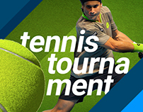 Tennis Tournament web and mobile experience design