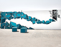 FLOW // MISK ART FOUNDATION // TAPE ART & GRAFFITI