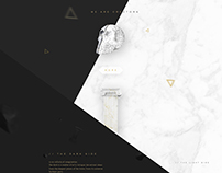Dusted - creative studio website