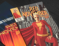 Red November Comic Book