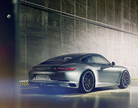 Porsche 911 Carrera S - Full CGI & Retouching