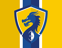 Cardiff Blue Dragons RLFC - Rebrand