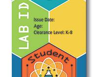 Student lab ID badge