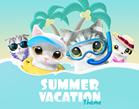 Summer Vacation Theme