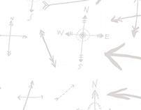Some doodle-y adventure patterns