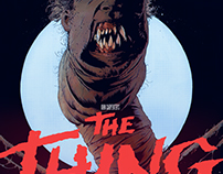 The Thing Artbook Illustration