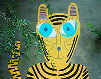 El Tigre - Mural