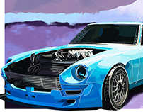 B IS FOR BUILD - 240z