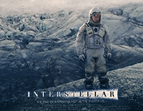 A poster for the Movie Interstellar