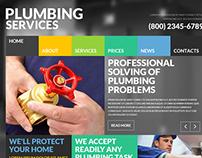 Plumbing Joomla Template