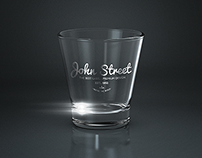 Alcohol / Drink Glasses MockUp