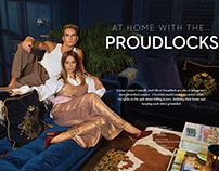 At Home With The Proudlocks | Arcadia Magazine