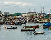 Puerto de San Antonio- 5ta región Chile.