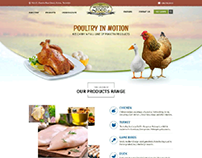 Website and UI Design (Poultry Chicken Products)