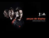Adidas - Peças display Copa do Mundo 2014