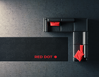 RED DOT - ArchViz Minimal full CGI