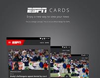 ESPN Cards Concept