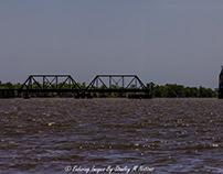 Train Trestle Across Apalachicola River