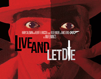 Rediseño de carteles de las películas de James Bond(2)