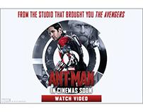 Ant-Man International Banners - Circle Design