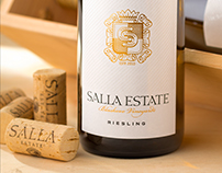 Salla Wine Labels by the Labelmaker