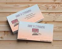Business cards/Blogger