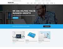 Erzen - Corporate & Business WordPress Theme