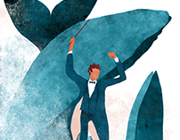 Conductors | Editorial illustration