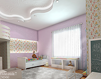 girl modern bedroom