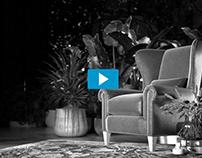 TV Night Interior// Stills and animation