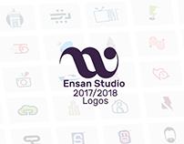 Ensan Studio Logos | 2017-2018