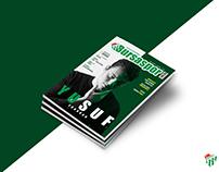 Bursaspor Dergi Tasarımı l Football Basketball Magazine